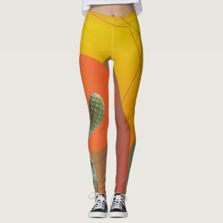 Colorful Summer mood custom  Leggings