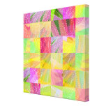 Colorful Summer Party Fun Time Stretched Canvas Print