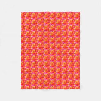 Colorful Sunflower Fleece Blanket (Small)