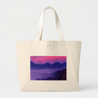 Colorful Sunset Tote Bags