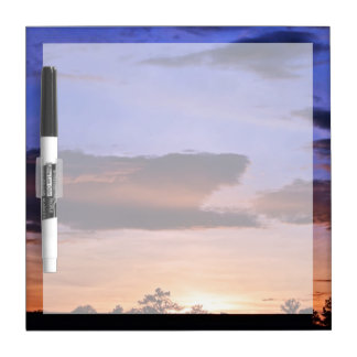 Colorful Sunset by Shirley Taylor Dry Erase Board