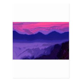 Colorful Sunset Postcard