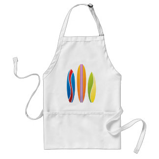 Colorful Surfboards Standard Apron