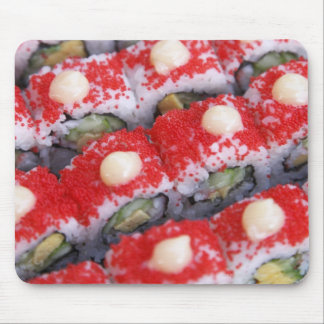 Colorful sushi for sale mouse pad