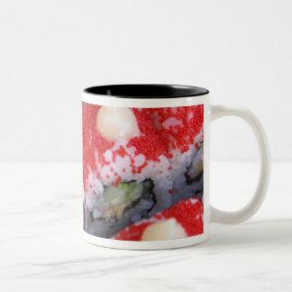 Colorful sushi for sale Two-Tone coffee mug