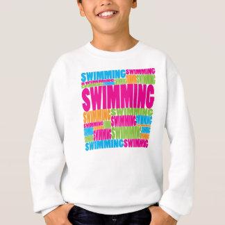 Colorful Swimming Sweatshirt