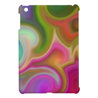 Colorful Swirl Abstract. Cover For The iPad Mini