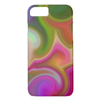 Colorful Swirl Abstract iPhone 8/7 Case
