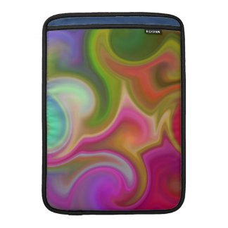 Colorful Swirl Abstract MacBook Sleeve