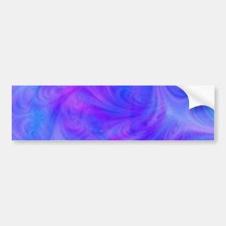 colorful swirl bumper sticker