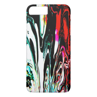 Colorful swirl iPhone 7 plus barely there case