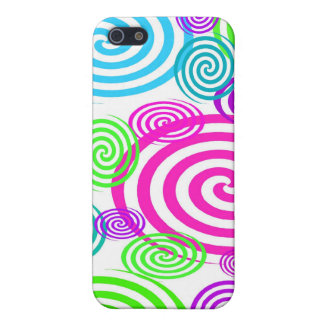 Colorful Swirls I-pod Touch Case iPhone 5/5S Cover