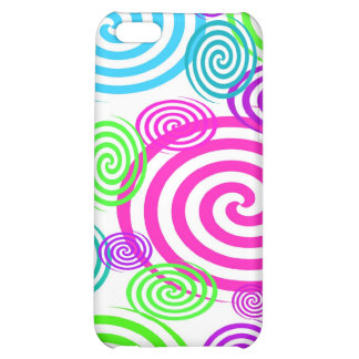 Colorful Swirls I-pod Touch Case iPhone 5C Cover