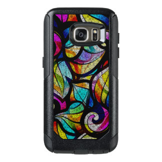 Colorful Swirls Stained Glass Design OtterBox Samsung Galaxy S7 Case