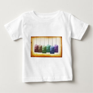 Colorful Teabags Baby T-Shirt
