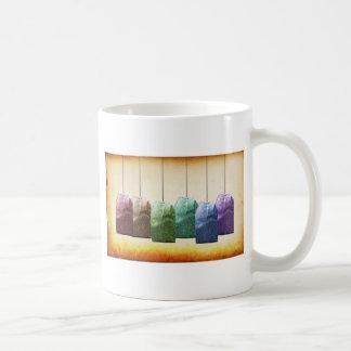 Colorful Teabags Coffee Mug
