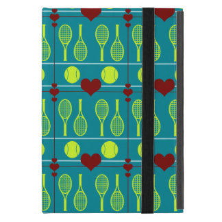 Colorful tennis pattern cover for iPad mini