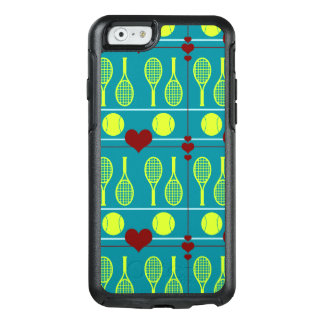 Colorful tennis pattern OtterBox iPhone 6/6s case