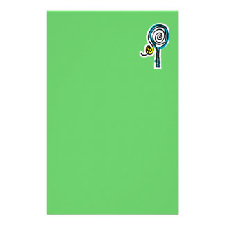 Colorful Tennis Spiral Rope Stationery