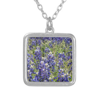 Colorful Texas Bluebonnets - Lupinus texensis Necklaces