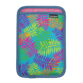 Colorful Textile Fern Art Abstract iPad Case