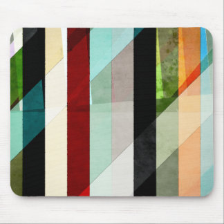 Colorful Textured Abstract Mouse Pad