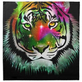 Colorful Tiger Animal Napkin