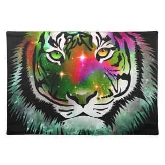 Colorful Tiger Animal Placemat