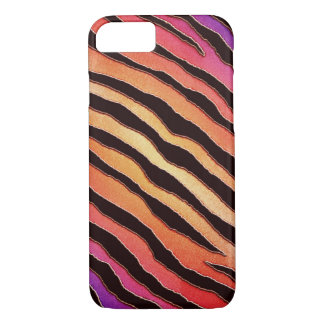 Colorful Tiger Animal Print iPhone 7 Case