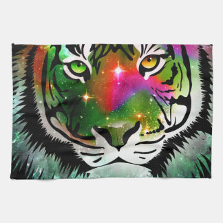 Colorful Tiger Animal Tea Towel
