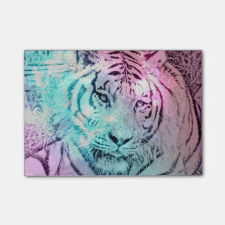 Colorful Tiger Post It Notes