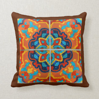 Colorful Tile Design Cushion