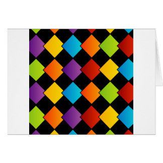 Colorful tiles cards