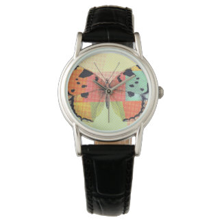 Colorful Tissue Paper Butterfly Watch