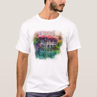 Colorful Tokyo Japan Garden T-Shirt