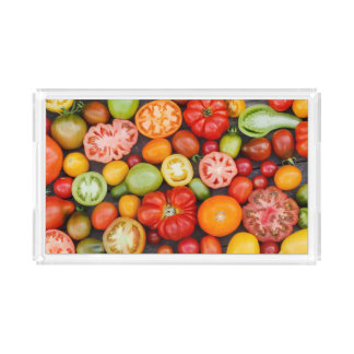 Colorful Tomatoes Acrylic Tray