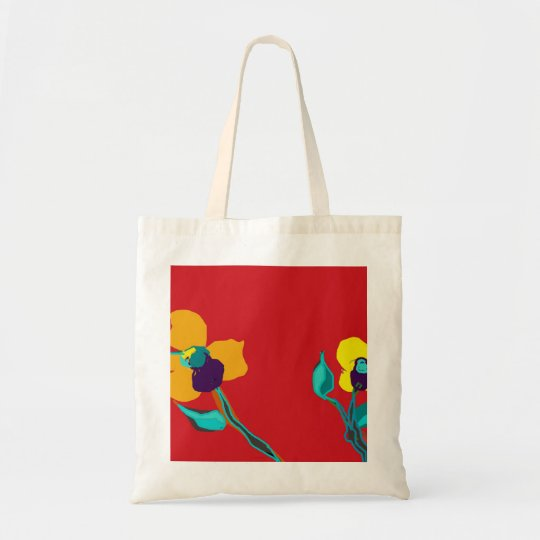 COLORFUL TOTE BAG..FLORAL DESIGN>ORIENTCOURT