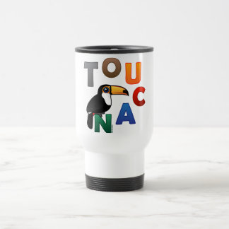 Colorful Toucan 15 Oz Stainless Steel Travel Mug