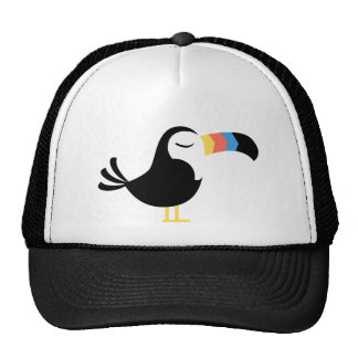 Colorful Toucan Cap