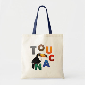 Colorful Toucan Tote Bag