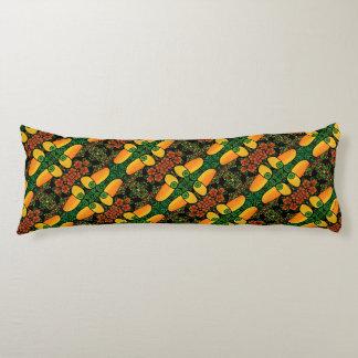 Colorful Toucan Tropical Bird Pattern Body Cushion