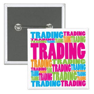 Colorful Trading 15 Cm Square Badge