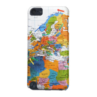 Colorful Travel Map iPod Touch 5G Case