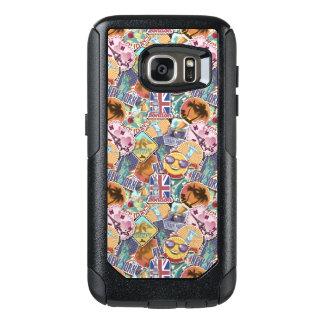Colorful Travel Sticker Pattern OtterBox Samsung Galaxy S7 Case