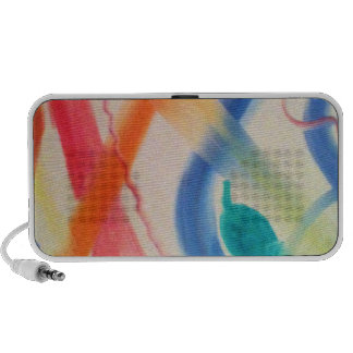 Colorful Travelling Speakers