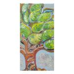 Colorful Tree Custom Photo Card