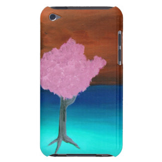 Colorful Tree Painting iPod Touch Cover