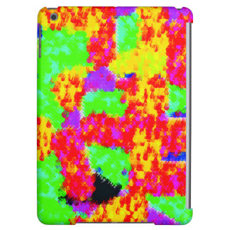colorful trendy Abstract iPad Air Cover