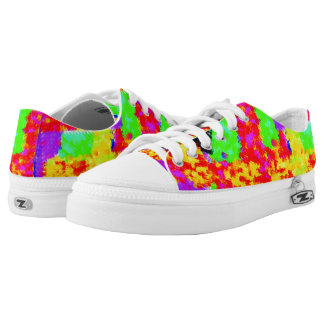 colorful trendy Abstract Low Tops