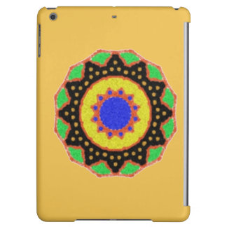 Colorful trendy abstract pattern cover for iPad air